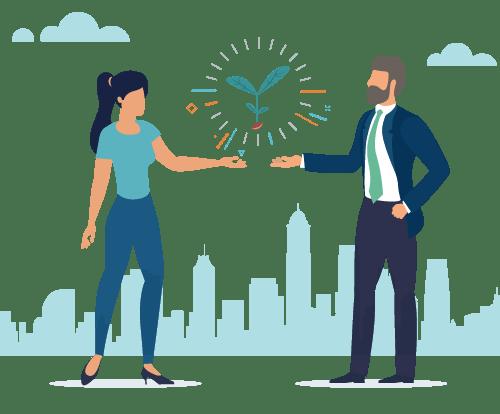 企業とスタートアップのコラボレーション